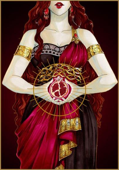 PERSEFONE: LA LUCE NEL BUIO bardo e riti di Eleusi